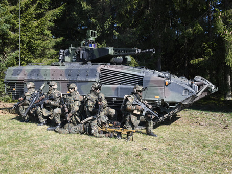 """System Panzergrenadier"": Rheinmetall modernizing Puma infantry fighting vehicle and other equipment"