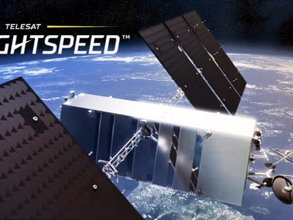 Telesat to redefine global broadband with Telesat Lightspeed, the world's most advanced LEO network