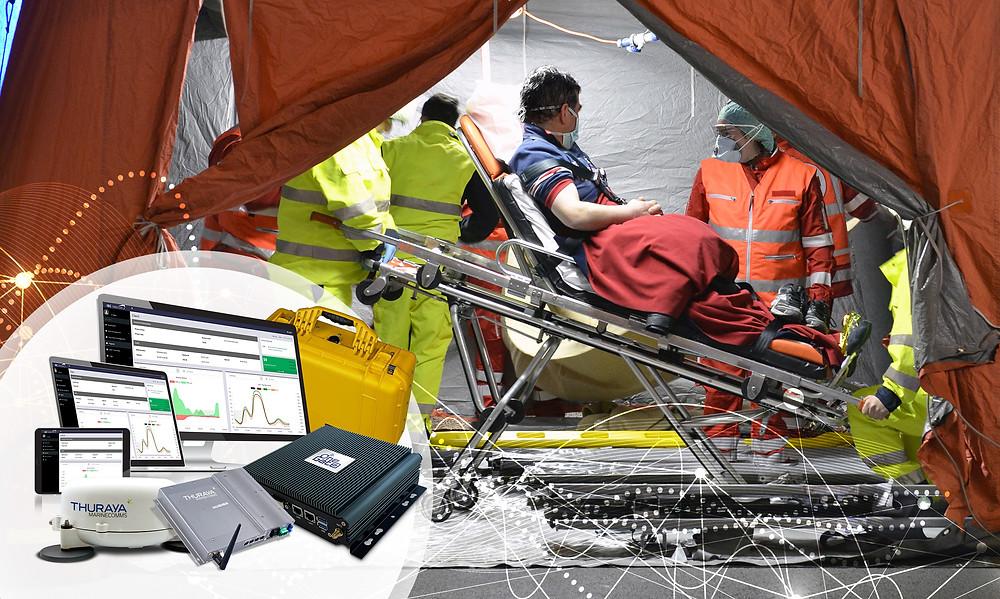 IEC Telecom & Thuraya empower critical humanitarian operations with high bandwidth via a portable Rapid Deployment Kit
