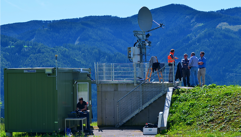QuadSAT antenna testing successfully demonstrated to SES and Eutelsat