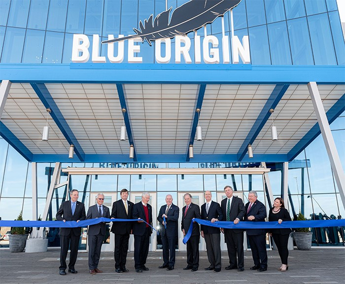 Blue Origin Opens Huntsville Engine Factory