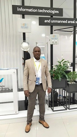 Ludovic Thierry Takam, Infinet West African Manager