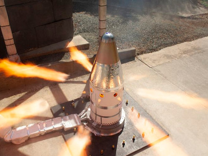 Northrop Grumman successfully completes qualification motor test for NASA's Orion launch abort syste