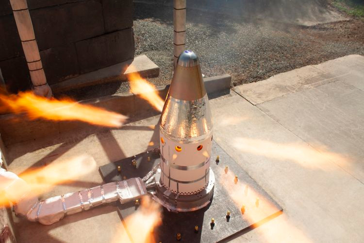 Northrop Grumman successfully completes qualification motor test for NASA's Orion launch abort system attitude control motor