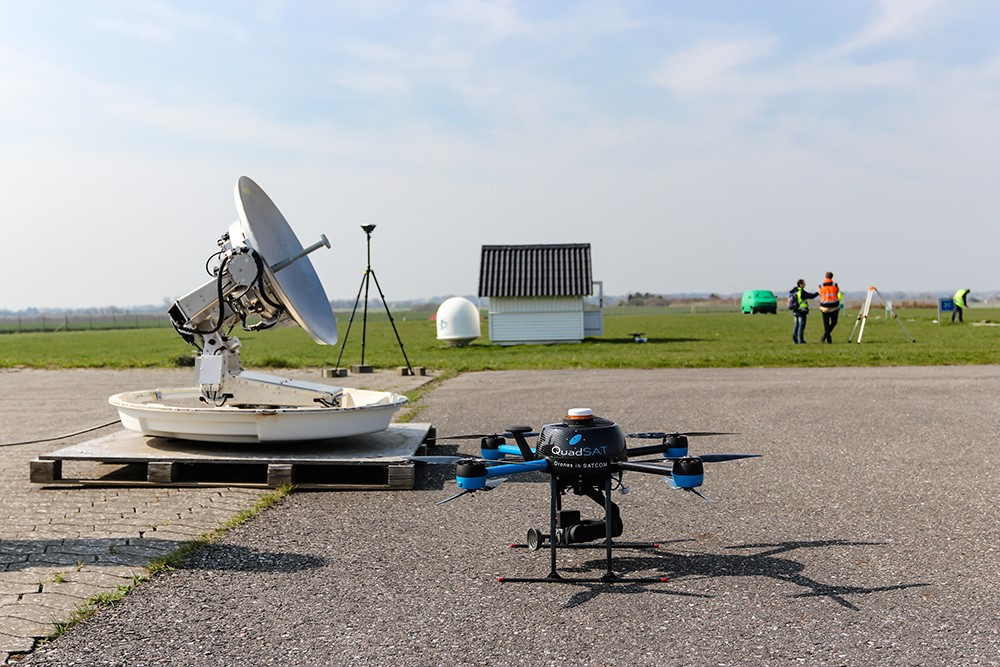 QuadSAT to develop SOMAP compliant UAS antenna testing with ESA