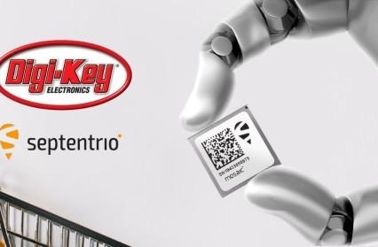Septentrio announces global distribution partnership with Digi-Key