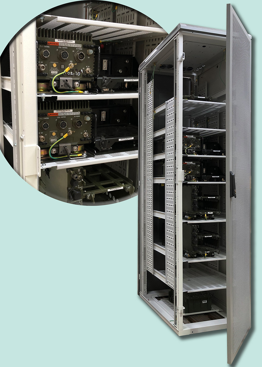 Verotec IMRAKs selected as the default cabinets for the next generation C5ISR equipment for LSRC