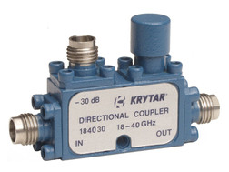 KRYTAR announces new directional coupler covering 18 to 40GHz with 30 dB coupling