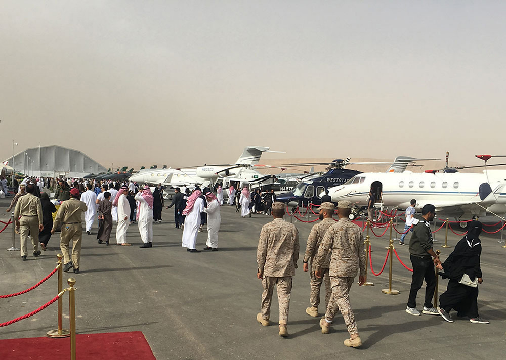 Second Saudi International Airshow to be held 16-18 February 2021 at Thumamah Airport, Riyadh