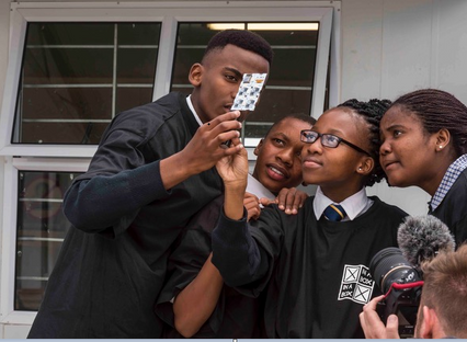 Go for launch! Intelsat brings space STEM to students in Africa