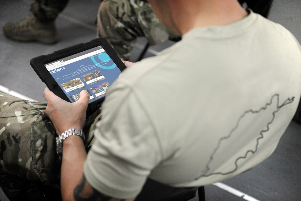 BFBS to demonstrate MiPlayer WiFi technology at DSEI 2019