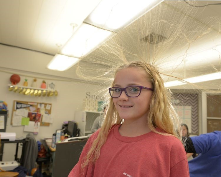 """Students liked the way """"Don't Shock Me"""" explained the science behind why static electricity happens and why it's important to understand."""
