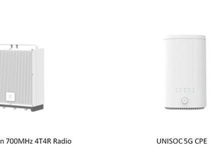 UNISOC and Ericsson complete 5G NR 700MHz DL 4x4 MIMO tests