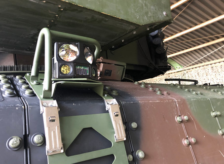 Rheinmetall to supply laser duel simulators for the Puma infantry fighting vehicle, making an import