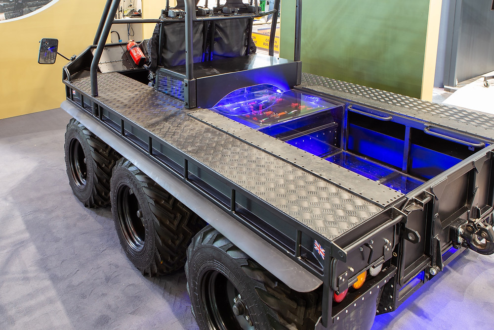UK partnership pioneers autonomous hybrid vehicle for extreme off road operations Supacat unveils `optionally manned hybrid` demonstrator at DSEi