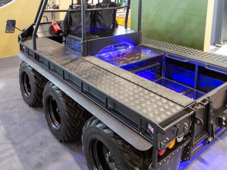 UK partnership pioneers autonomous hybrid vehicle for extreme off road operations Supacat unveils &#