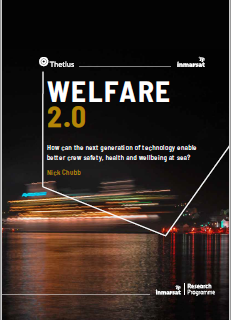 Inmarsat's welfare 2.0 report investigates the role of technology in enhancing crew safety, heal