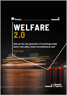 Inmarsat's welfare 2.0 report investigates the role of technology in enhancing crew safety, health and well-being