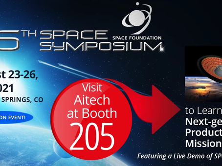 Aitech supports next-gen space applications with new COTS qualification at 2021 Space Symposium