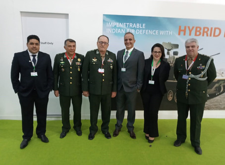 IACIT participates in DEFEXPO, in Lucknow, India, presenting in the Brazilian Pavilion