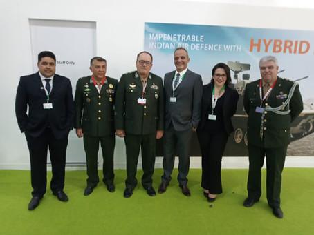 IACIT participates in DEFEXPO, in Lucknow, India, presenting in the Brazilian Pavilion