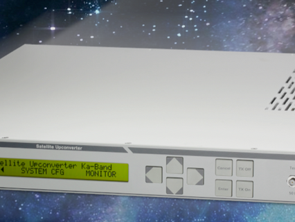 WORK Microwave delivers Ka-band up- and downconverters for ESA's deep space network