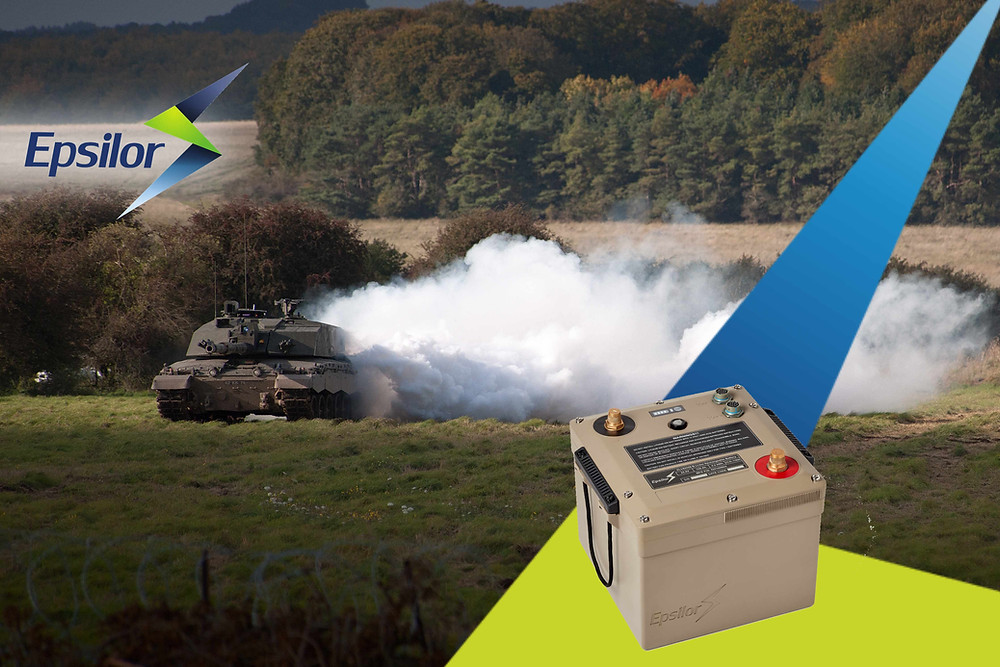 Epsilor's 6T Li-Ion Battery selected by 10 military and defence customers worldwide; has completed 3,000km all-terrain field testing