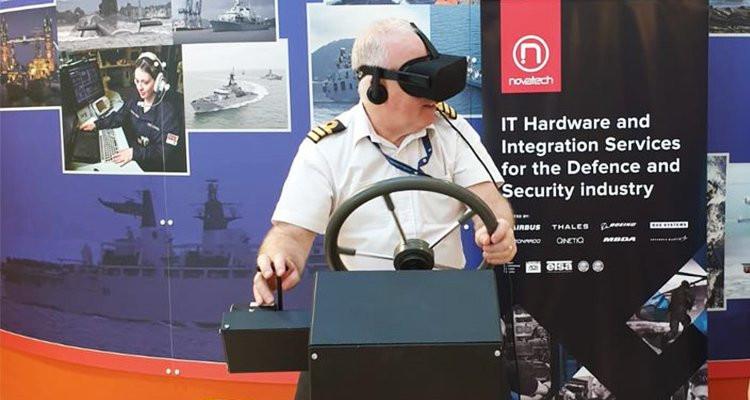 Novatech Ltd turn Royal Navy Reserves training virtual with new RHIB simulators