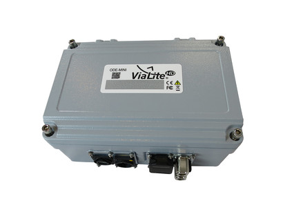 ViaLite Mil-Aero links get uptime boost from outdoor enclosure