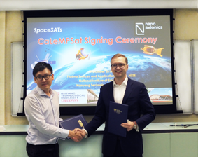 NanoAvionics to Build 12U Nano-satellite for Singapore's CaLeMPSat Research Mission