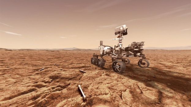 """When Perseverance lands on Mars in February 2021, it will begin searching for signs of livable conditions and microbial life from the ancient past. As Perseverance explores, the SHA will manipulate, assess, encapsulate, store and release collected Martian soil and rock samples. The camera focus system, part of the SHERLOC instrument and WATSON imager, will support this effort by enabling Perseverance to identify promising samples on the surface of Mars. A future mission could potentially return collected samples to Earth.  """"Congratulations on the successful launch to our friends and colleagues at NASA and its mission partners,"""" said Megan Fitzgerald, Maxar's Senior Vice President and General Manager of Space Infrastructure. """"We're looking forward to the exciting science that Perseverance will conduct with the help of the robotic arm we built."""" Robotics have proven themselves as essential tools for a wide variety of space missions. With the ability to provide extreme accuracy under severe temperature variations and within dusty and dirty environments, robotics can even lend a hand when something unexpected happens, such as in the case of the German Aerospace Center's heat probe on NASA's InSight lander.  """"When InSight touched down on Mars in November 2018, it activated its Maxar-built robotic arm to place sensitive instruments onto the Martian surface,"""" said Lucy Condakchian, Maxar's General Manager of Robotics. """"The robotic arm then went on standby mode, its mission having been accomplished. Shortly after, a heat probe designed to take Mars' temperature got stuck while attempting to burrow into the Martian soil. To remedy this, NASA leveraged InSight's robotic arm to push the mole underground – a task that we didn't design it for.""""  Maxar is also extending its robotic leadership to the Moon. In addition to the company's work on the power and propulsion element and human landing system for NASA's Artemis program, Maxar is building a robotic arm called Sample Acquisit"""