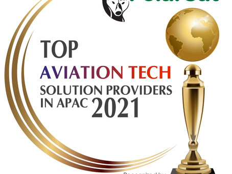 PolarSat wins 2021 top 10 aviation tech solution award from Aerospace and Defense Review Magazine
