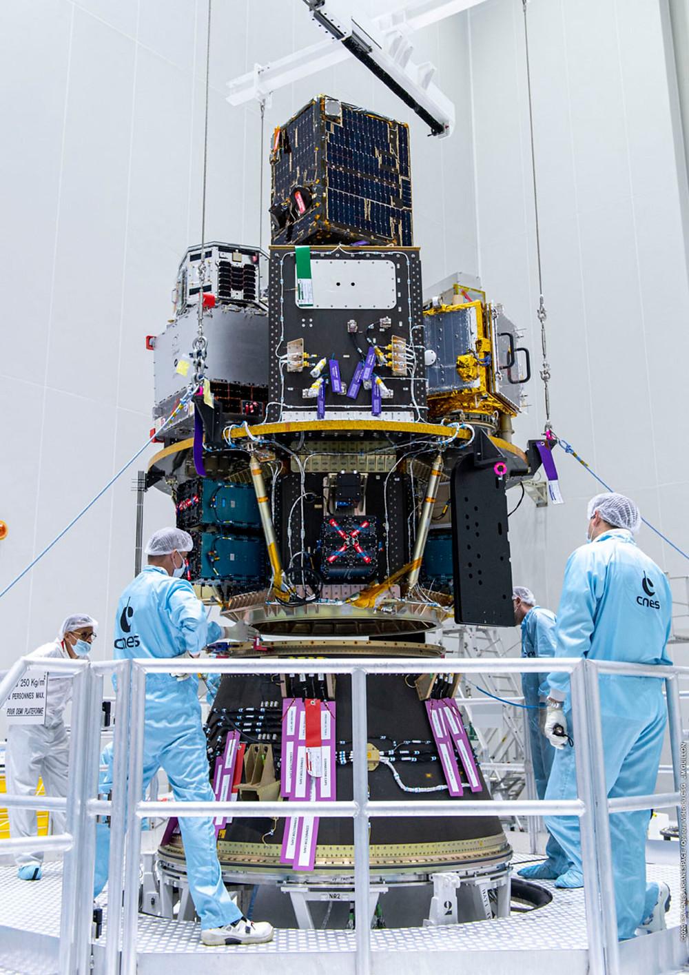 The ESAIL satellite prior to encapsulation