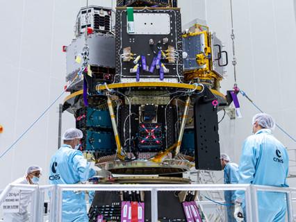 exactEarth announces successful launch of the ESAIL microsatellite