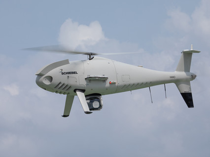 Schiebel CAMCOPTER® S-100 deployed for river pollution crisis in Malaysia