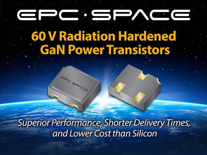 EPC Space announces cost effective new 60V rad hard GaN Power Device for demanding space missions