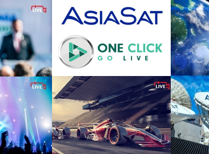 AsiaSat takes a strategic stake in leading live streaming service 'One Click Go Live'