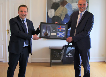 British rocket company Skyrora receives Icelandic Leif Erikson Award for its environmental efforts