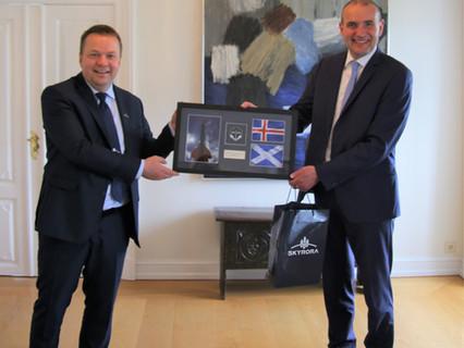 British rocket company Skyrora receives Icelandic Leif Erikson Award for its environmental efforts