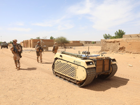 Milrem Robotics' THeMIS UGV completes first deployment in Mali proving its effectiveness and reliabi