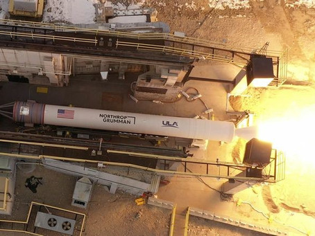 Northrop Grumman completes validation test of new rocket motor for United Launch Alliance