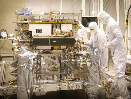 """ExoMars rover """"Rosalind Franklin"""" leaves Airbus en route to Mars"""