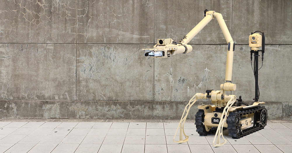 L3Harris Technologies introduces new medium-sized robotic system for security operations in urban and space-constrained environments