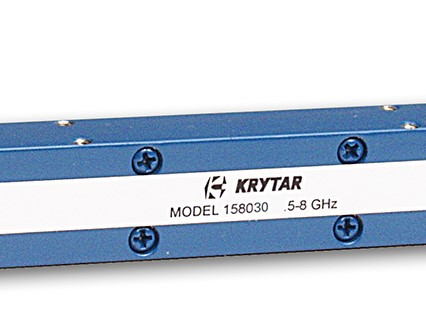 KRYTAR announces new directional coupler operating in the range of 0.5-8.0 GHz with 30 dB coupling