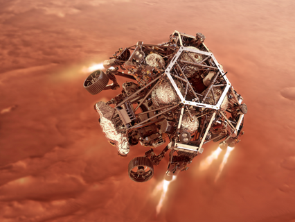 Cobham Mission Systems' Pyrovalves power precision landing of NASA Perseverance Rover on Mars