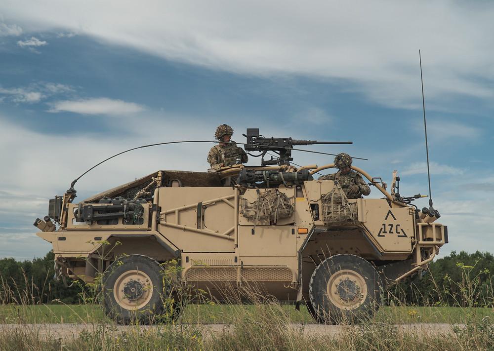 Supacat's Jackal Mobility Weapon-Mounted Installation Kit (MWMIK)