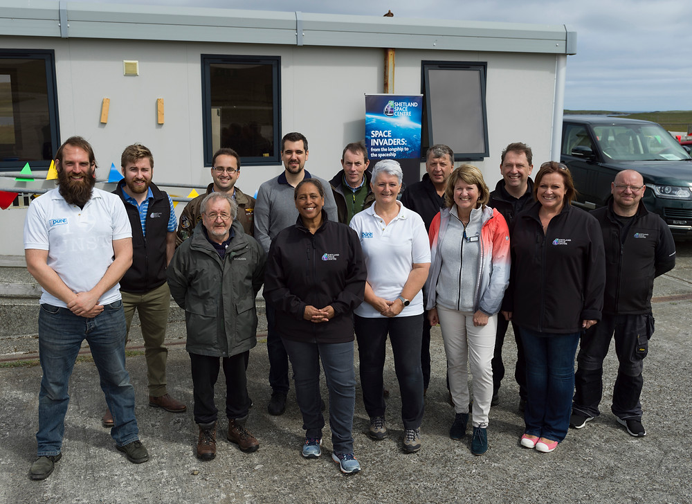 Shetland Space Centre and B2Space successfully test launch of space research balloon
