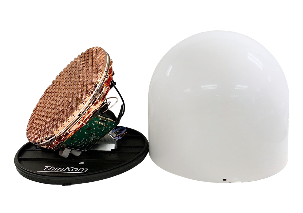ThinKom develops prototype for next-generation NGSO satellite user terminals