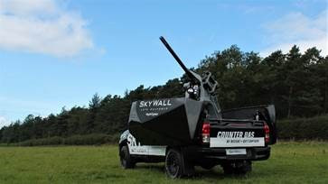 DSEI: OpenWorks and SteelRock introduce the first combined vehicle-mounted Net Capture and RF Defeat system