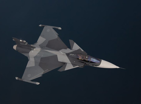 Saab reveals new decoy missile for Gripen